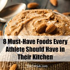 http://thetrihub.com/2016/05/07/8-must-have-foods-every-athlete-should-have-in-their-kitchen/ #runner #runners #triathlon #motivation #swimbikerun #training #exercise #nutrition