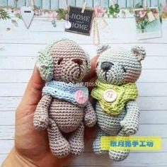 이미지 출처 = 핀터레스트가방고리, 키링에 적합한 미니미 곰돌이들
