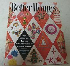 1954 DECEMBER BETTER HOMES AND GARDENS MAGAZINE