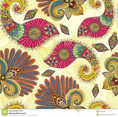 Modelo Inconsútil Brillante Floral Con Las Flores Y Paisley Del Doodle - Descarga De Over 36 Millones de fotos de alta calidad e imágenes Vectores% ee%. Inscríbete GRATIS hoy. Imagen: 28216022