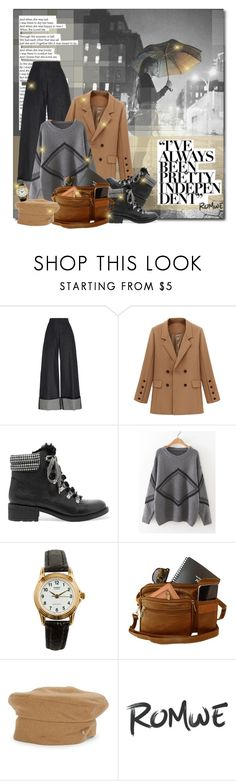 """Rain day in grey city"" by beograd-love ❤ liked on Polyvore featuring Martin Grant, Sam Edelman, American Apparel and Helen Kaminski"