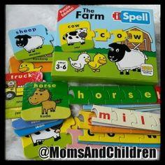 Puzzle Edukasi | iSPELL 'The Farm' (1st edition) Dalam iSPELL 'The Farm', anak-anak bermain dan belajar mengenai benda atau binatang yang terdapat di sebuah pertanian. Contact us : Line@ : @MomsAndChildren whatsapp : 083897632306 BBM : 769432FC Sheep, Puzzle, Horses, Puzzles, Horse, Quizes
