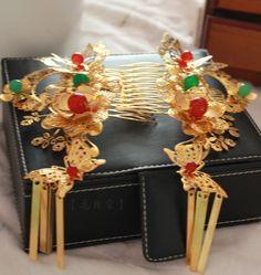 Chinese Traditional Handmade Hair Accessories Comb Fascinators Headbands Bridal…