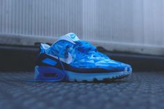 Nike Air Max 90 ICE - Barely Blue / White These are FIRE | Kixify.com