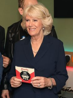 Camilla Parker Bowles Photos Photos - Camilla, Duchess of Cornwall joins the '500 Word' judging panel, a creative writing competition, at BBC Radio 2 Studios on May 4, 2017 in London, England. - The Duchess of Cornwall Joins the 500 Words Judging Panel