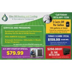 All Summer Specials are extended to 8/31/2014 http://eliteoilcompany.com/specials  **************************************** #EliteOilCompany#HeatingOil #Diesel #HVAC #BulkFuelStorage #Denville #Sussex #Morris #sycamorecompanies #DenvilleHeatingOil #DenvilleDiesel #DenvilleHVAC #SussexHeatingOil #SussexDiesel #SussexHVAC #MorrisHeatingOil #MorrisDiesel #MorrisHVAC #bettertogether #WeDeserveThis