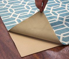 washable rugs! A two piece system that allows you to wash the rug without having to wash the rubber underlay