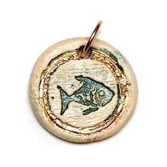 The fish is a common symbol in both Judaism and Christianity – The Kabbalah emphasis fish as the symbol of fertility.Each of our Holly land handmade clay crafts