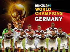 Germany Champion World Cup 2014