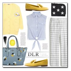 """DLR Luxury Boutique"" by dorinela-hamamci ❤ liked on Polyvore featuring Coach, Yves Saint Laurent, Santoni, J.Crew, Miss Selfridge, Urban Decay, River Island and dlr"