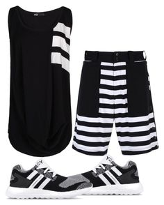 """""""Untitled #6838"""" by tailichuns ❤ liked on Polyvore featuring Y-3"""