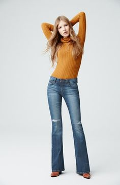 Joe's 'Collector's - Icon' Shredded Flare Jeans (Kalia) | Nordstrom