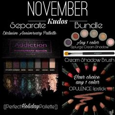 Fifth Year #Soireė #Younique #Anniversary #Palette #LimetedEdition Get It With The #November #Kudos 26% Savings! Kudos Includes Anniversary Palette, #Opulence #Lipstick , #Splurge #Cream #Shadow & Cream Shadow #Brush #GetYoursHere https://www.youniqueproducts.com/prettylittlelayersbysarah #FindMe on #Facebook #Love2BYouniquewithSarah #Younique #Love Sarah Haydel