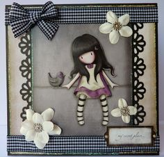 4/29/2010; Jane at 'Jane's Lovely Cards' blog; Gorjuss Girls