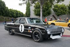1964 Ford Falcon Holman & Moody Sprint by Pat Durkin - Orange County, CA, Ford Falcon, Ford Raptor, Shelby Gt500, Ford Shelby, Ford Mustang 1967, Ford Ecosport, 1964 Ford, Road Race Car, Race Cars