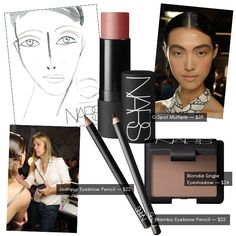 NARS Trend Report | Strong Brows At THAKOON S/S 2013 on http://www.poshglam.com/nars-trend-report-strong-brows-at-thakoon-ss-2013/
