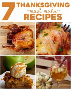 7 Thanksgiving Must Make Recipes | Here's 7 Recipes That You Need To Make For Thanksgiving This Year