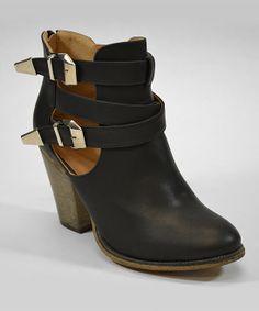 Black Orlando Ankle Boot