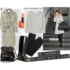 rainy day outfit... especially in the PNW