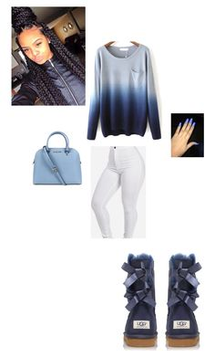 """""""Untitled #163"""" by indiantiera ❤ liked on Polyvore featuring UGG Australia and Michael Kors"""