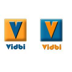 Vidbi's different logos