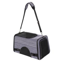 SONGMICS Pet Backpack Carrier for Small Dogs Cats Hiking Travel Crate Navy Blue UPPC55B >>> Click image to review more details. (This is an affiliate link) #Doggies
