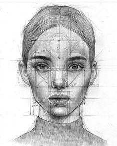 Çizgi ötesi çizim, 2019 art dessin, portrait dessin ve dessi Pencil Art Drawings, Art Drawings Sketches, Drawing Faces, Easy Drawings, Sketch Art, Drawing With Pencil, Anatomy Sketches, Pencil Portrait, Portrait Art