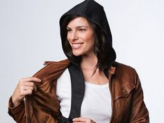This attachable hood, discovered by The Grommet, stows in your pocket or bag and fits under any jacket to protect you from passing showers.