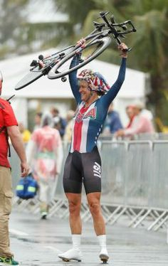 Kristin Armstrong #RIO 2016 #WorldBest🇴🇱🇾🇲🇵🇮🇨.