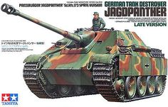 Toy Soldiers Model Kit Scale German Jagdpanther Late Version Tamiya 35203 for sale online Tamiya Model Kits, Tamiya Models, Plastic Model Kits, Plastic Models, Maquette Tamiya, Military Armor, Military Tank, New Aircraft, Tank Armor