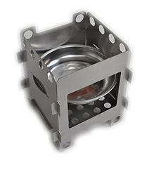 304 Stainless steel Wood Stove Alcohol Stove Outdoor BBQ Camping Cookware -- Click on the image for additional details.