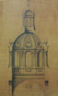 Cupola duomo di Como.  Filippo juvarra