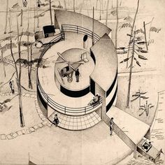 Casa del Futuro (1928-29) Arne Jacobsen.