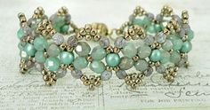 Linda's Crafty Inspirations: Bracelet of the Day: Secret Santa Bracelet