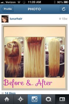 """100% 22inch Human hair extensions. Follow me on Instagram """"LUVURHAIR"""""""