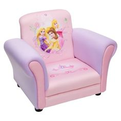 Delta Children's Products Upholstered Chair - Disney Princess