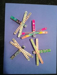 craft ideas for toddlers ~ craft ideas ; craft ideas for kids ; craft ideas for adults ; craft ideas for teenagers ; craft ideas to sell ; craft ideas for toddlers ; craft ideas for the home ; craft ideas for adults room decor Popsicle Crafts, Craft Stick Crafts, Fun Crafts, Arts And Crafts, Lolly Stick Craft, Creative Crafts, Craft Sticks, Decor Crafts, Holiday Crafts
