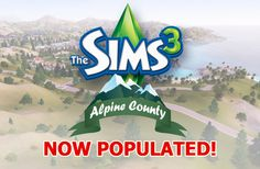 Alpine County – Populated » The Sims 3 World | The Sims 3 World