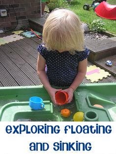 Virtual Book Club for Kids – Exploring Floating and Sinking with Harbour by Donald Crews simple science at home with everyday objects