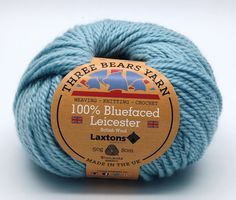 100% Bluefaced Leicester wool in Aqua. We have teamed up with another fantastic British textile manufacturer - Laxtons Yarns, worsted woollen spinners. They have produced this beautiful yarn with such a gorgeous handle especially for us to dye in our Lancashire Dye House.  British premium wool, grown, spun, dyed and balled in the UK.  #threebearsyarn #madeintheuk #weaving #knitting #crochet #crafts #Blackburnyarndyers #wool #bluefaced #madeinlancashire #britishmade #makeitbritish