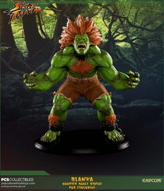 ArtStation - Blanka 1/4 Scale Statue for Pop Culture Shock Collectibles, Jonathan Reilly
