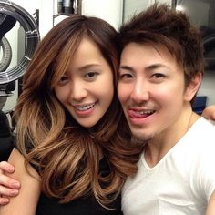 Ombre Hair - @Michelle Phan  and I watched Mariah Carey concert DVD while coloring and trimming her hair! natural and warm fall fall! Added more light on her face frame ! 6 hrs of fun!  #guytang #guy_tang #guytanghair #michellephan #ombre #asianhair #asianombre #bff