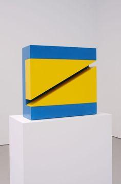 John McCracken, Theta Two, 1965, acrylic lacquer on wood.