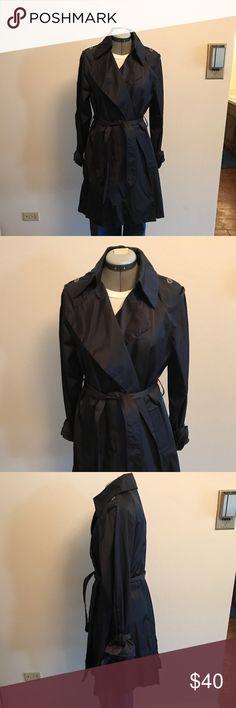 "Vintage Millard Fillmore Raincoat Size Small Dark Blue Vintage Millard Fillmore Raincoat Size Small. Great for Spring. 38"" Long, 16"" shoulder to shoulder, 21"" sleeve length. Jackets & Coats Trench Coats"