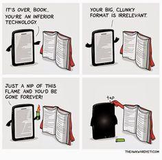 Gaat de tablet het winnen van het boek?