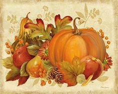 Harvest Bounty Rectangle <br/> Pamela Gladding