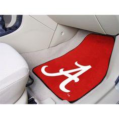 Alabama Crimson Tide Carpet Floor Mats