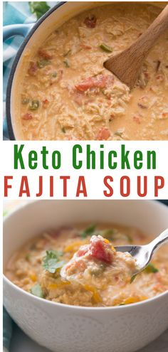 Carb Chicken Fajita Soup (Keto Friendly) This easy to make Low Carb Chicken Fajita Soup is delicious, full of flavor, and extremely filling.This easy to make Low Carb Chicken Fajita Soup is delicious, full of flavor, and extremely filling. Low Carb Keto, Low Carb Recipes, Soup Recipes, Diet Recipes, Healthy Recipes, Grill Recipes, Dessert Recipes, Easy Low Carb Meals, Smoothie Recipes