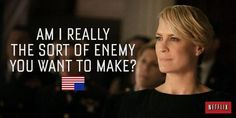 House of Cards - Claire Underwood Wise Man Quotes, Truth Quotes, Funny Quotes, Success Quotes, Frank Underwood Quotes, Unbreakable Kimmy Schmidt, Cinema, Tv Show Quotes, Hard Truth