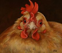 Red Hen - by Caryn King (Carynking.com)